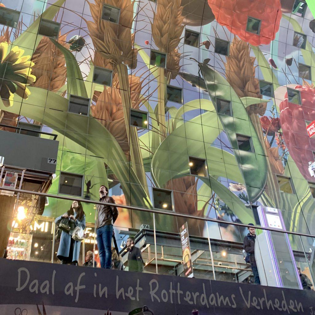Plafond markthal Rotterdam